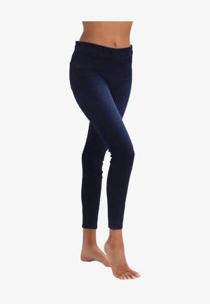 ANKLE JEAN-ISH - Leggings - twilight rinse