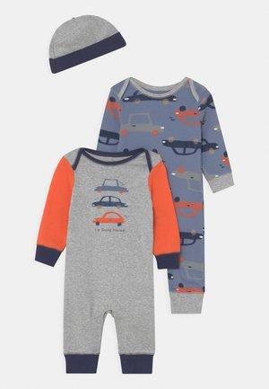 CARS 2 PACK SET - Jumpsuit - blue/mottled grey