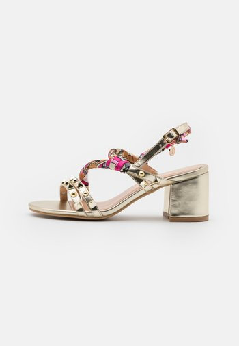 SIMONA - Sandals - gold