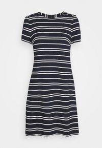 Tommy Hilfiger - STELLA SHIFT DRESS  - Day dress - desert sky/white - 4