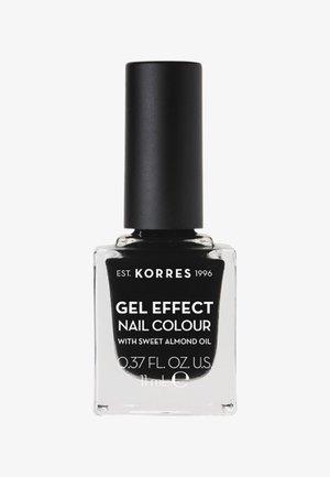 GEL-EFFEKT NAGELLACK - Nail polish - black 100