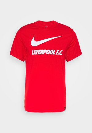 LIVERPOOL FC TEE GROUND - Club wear - university red