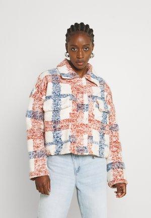 SHERPA FIELD JACKET - Summer jacket - jada plaid natural