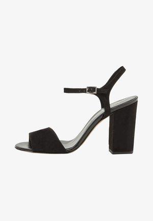 SENTA - Sandalen met hoge hak - black