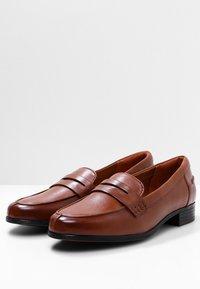 Clarks - HAMBLE  - Slip-ons - light brown - 3