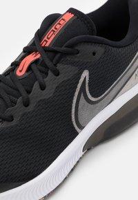 Nike Performance - NIKE ZOOM MERCURY MTF UNISEX - Neutral running shoes - black/white/bright crimson - 5