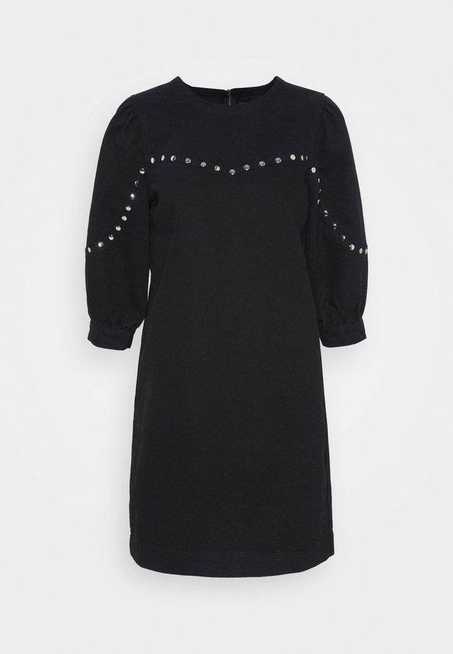 NMSIMONE STUD DRESS - Denní šaty - black