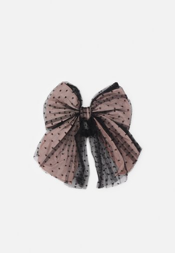 HAIR CLIP - Hair styling accessory - nero/rose
