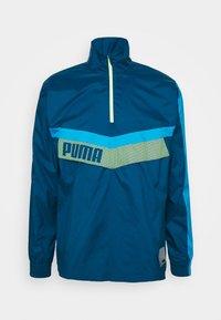 Puma - TRAIN ZIP JACKET - Windjack - blue/fizzy yellow - 4