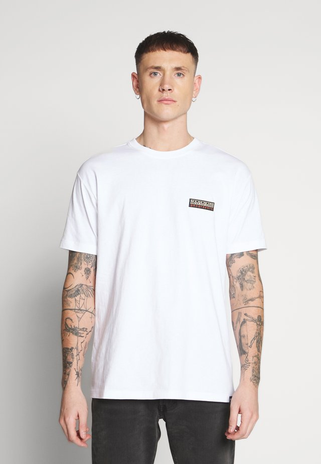 SASE - T-shirt z nadrukiem - bright white
