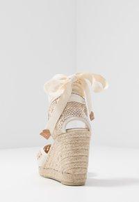Castañer - CAROLA  - Sandály na vysokém podpatku - natural - 5
