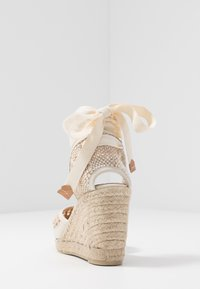 Castañer - CAROLA  - High heeled sandals - natural - 5