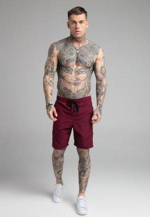 CALI TAPE SHORTS - Swimming shorts - burgundy