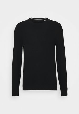 JPRBLACAMP STRUCTURE CREW NECK - Jumper - black