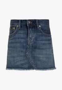 SKIRT - Denim skirt - bales wash