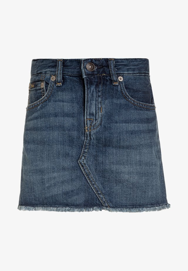 SKIRT - Jeansrock - bales wash