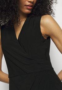 Lauren Ralph Lauren - CLASSIC DRESS - Shift dress - black - 5