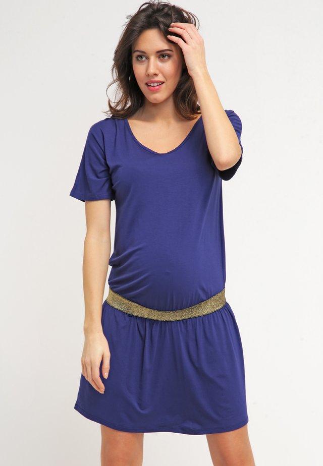 DANNYOR - Jersey dress - deep blue