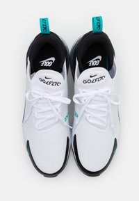 Nike Golf - AIR MAX 270 G - Golfsko - white/dusty cactus/black/metallic silver - 3