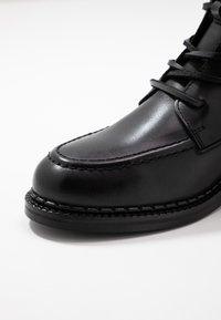 Zign - Bottines à lacets - black - 2