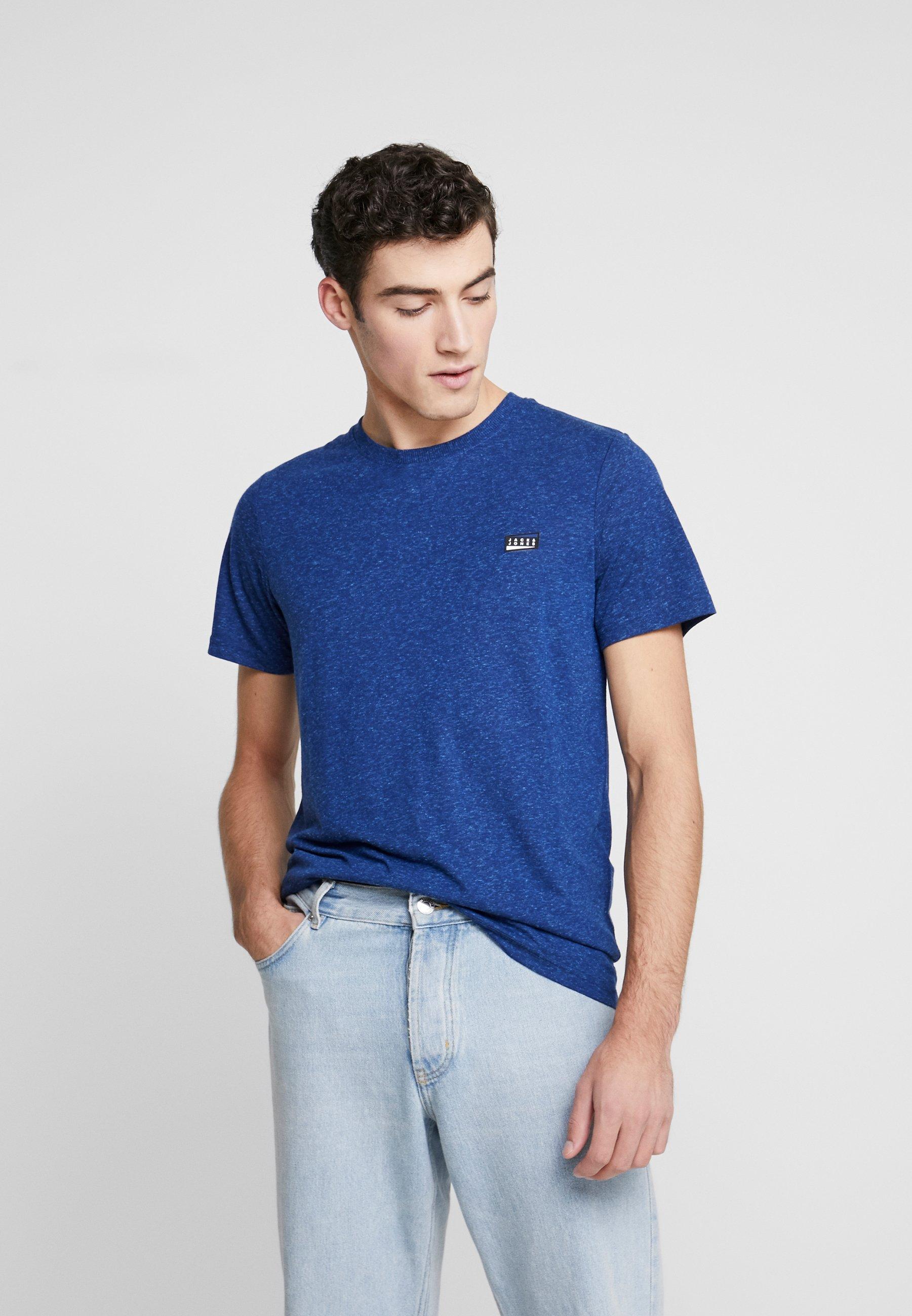 Homme JCOKAIDEN TEE CREW NECK - T-shirt imprimé