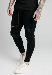 SIKSILK - Jeans Skinny Fit - black - 0