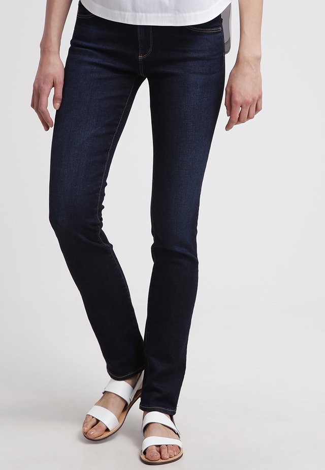 HARPER - Straight leg jeans - dark blue denim