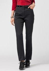 BRAX - STYLE INA - Slim fit jeans - black - 0