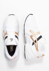 ASICS SportStyle - GEL-BND - Sneakersy niskie - white/champagne - 3