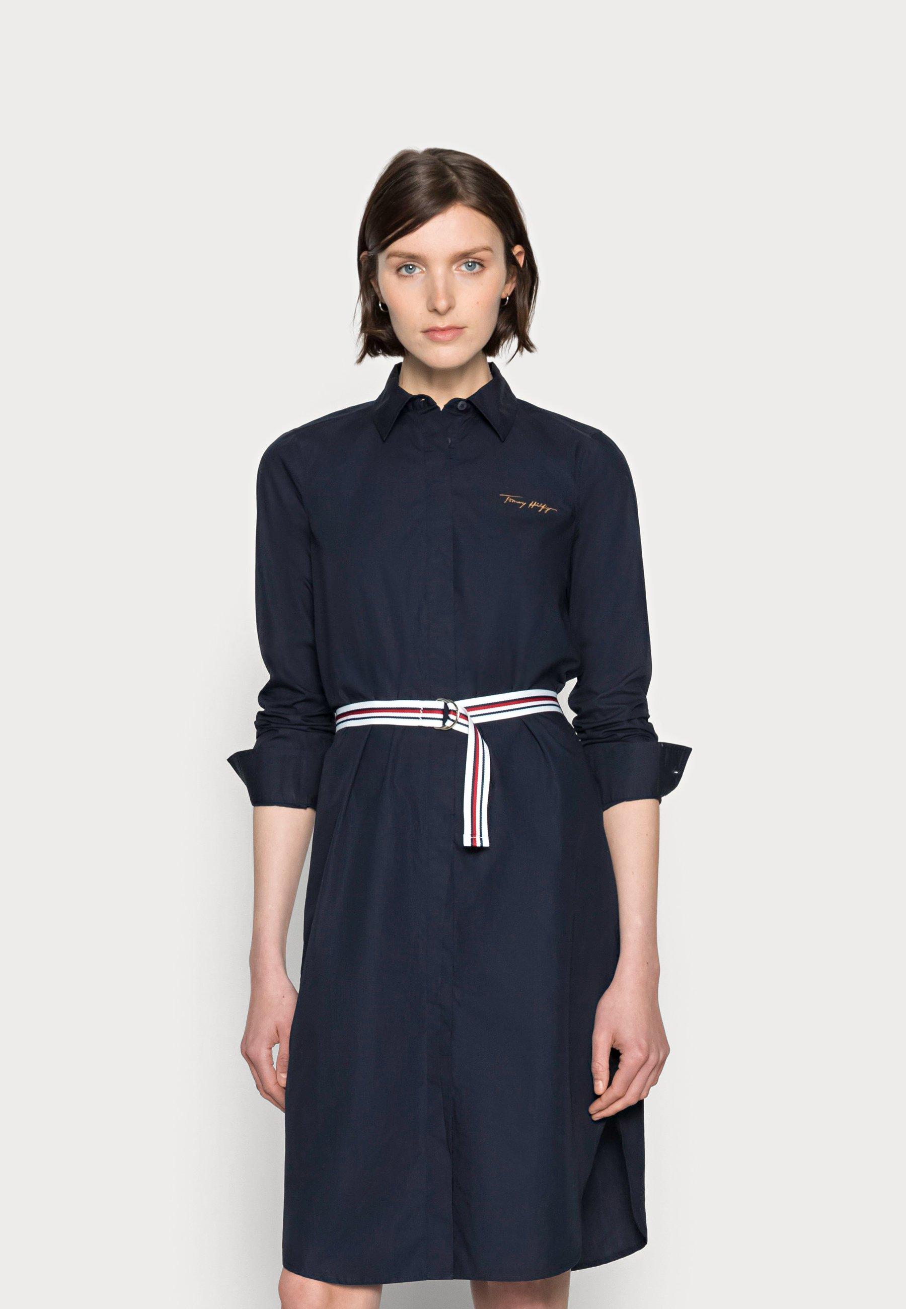 Mujer BELTED MIDI SHIRT DRESS - Vestido camisero