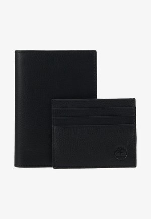 CREDIT CARD AND PASSPORT COVER GIFT SET - Portafoglio - black