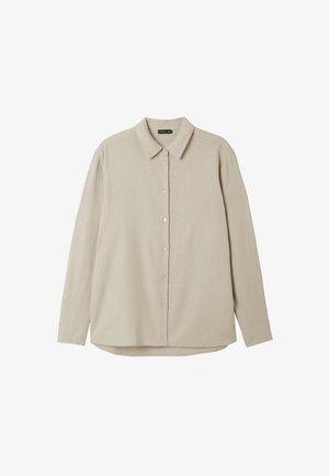 ELLE  - Button-down blouse - chateau grey