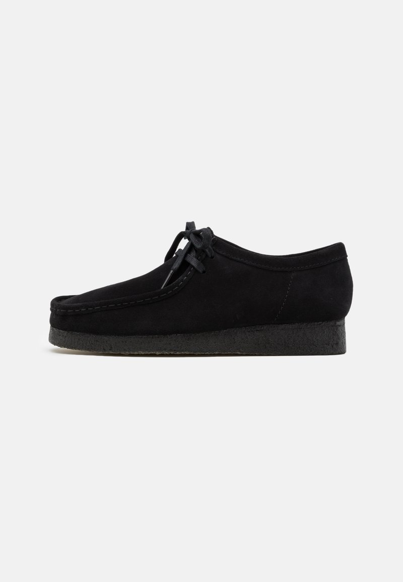 Clarks Originals - WALLABEE - Zapatos con cordones - black