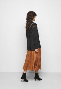 By Malene Birger - LUETA - Button-down blouse - black - 2