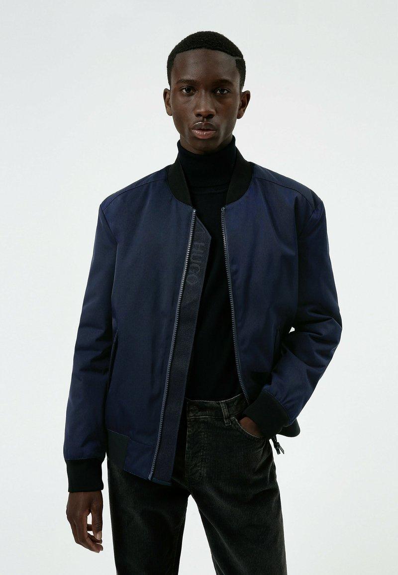 HUGO - Bomber Jacket - dark blue