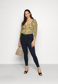 River Island Plus - Jeans Skinny Fit - denim dark - 1