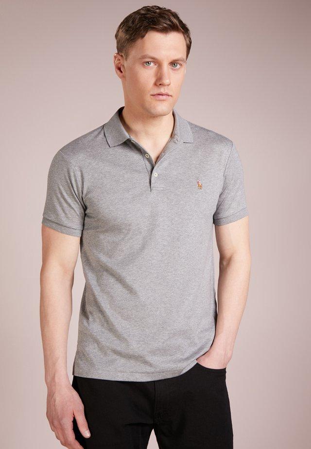 Polo shirt - steel heather