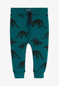 Next - TEAL DINO - Tracksuit bottoms - green - 0