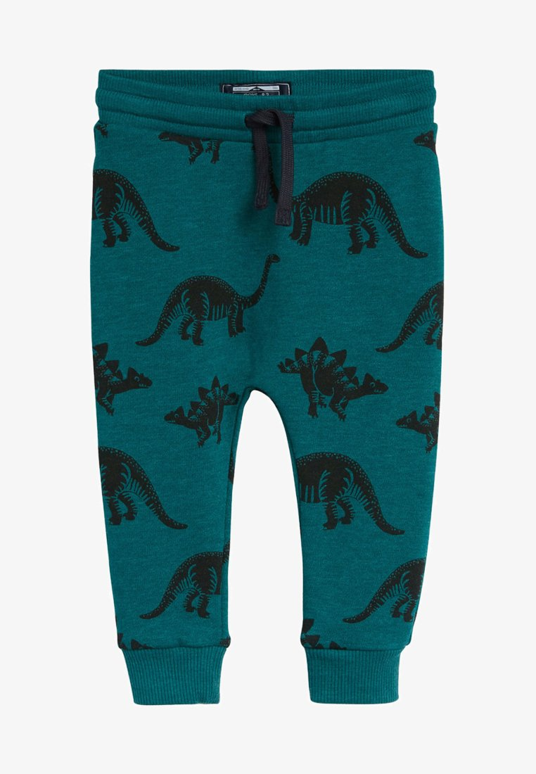 Next - TEAL DINO - Tracksuit bottoms - green