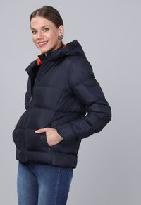 Basics and More - Winter jacket - navy - 4