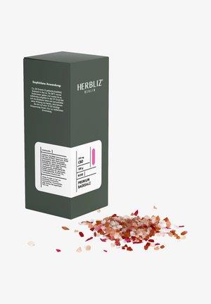 HERBLIZ BERLIN CBD BATH SALTS ROSE - Bubble bath & soak - -