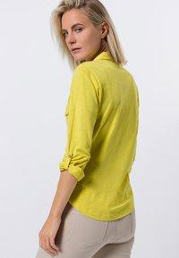 zero - Button-down blouse - yellow lime - 2