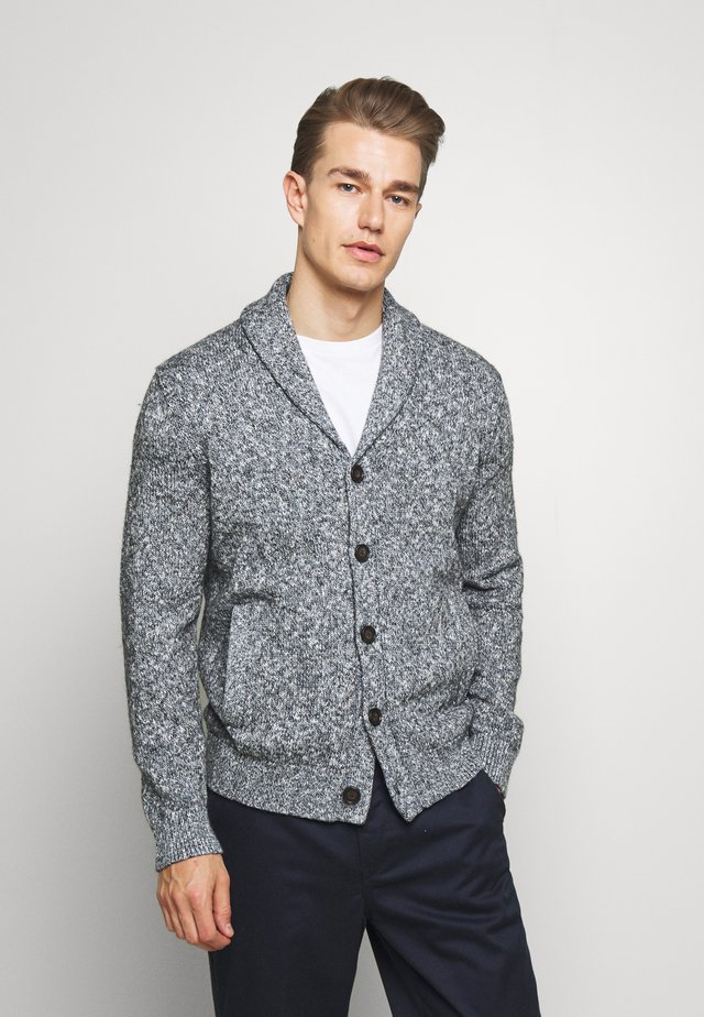 NOVELTY SLUB SHAWL  - Cardigan - blue marl