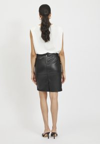 Vila - VIPEN - Pencil skirt - black - 2