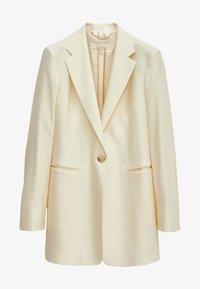 Massimo Dutti - MIT EIN-KNOPF-VERSCHLUSS - Short coat - beige - 3