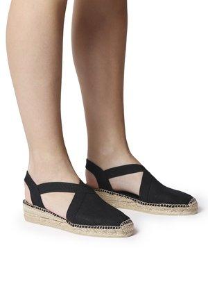 VERONA - Wedge sandals - black