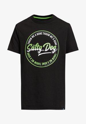SALTY DOG - T-shirt print - black