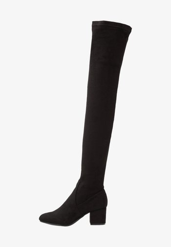 ISAAC - Høye støvler - black