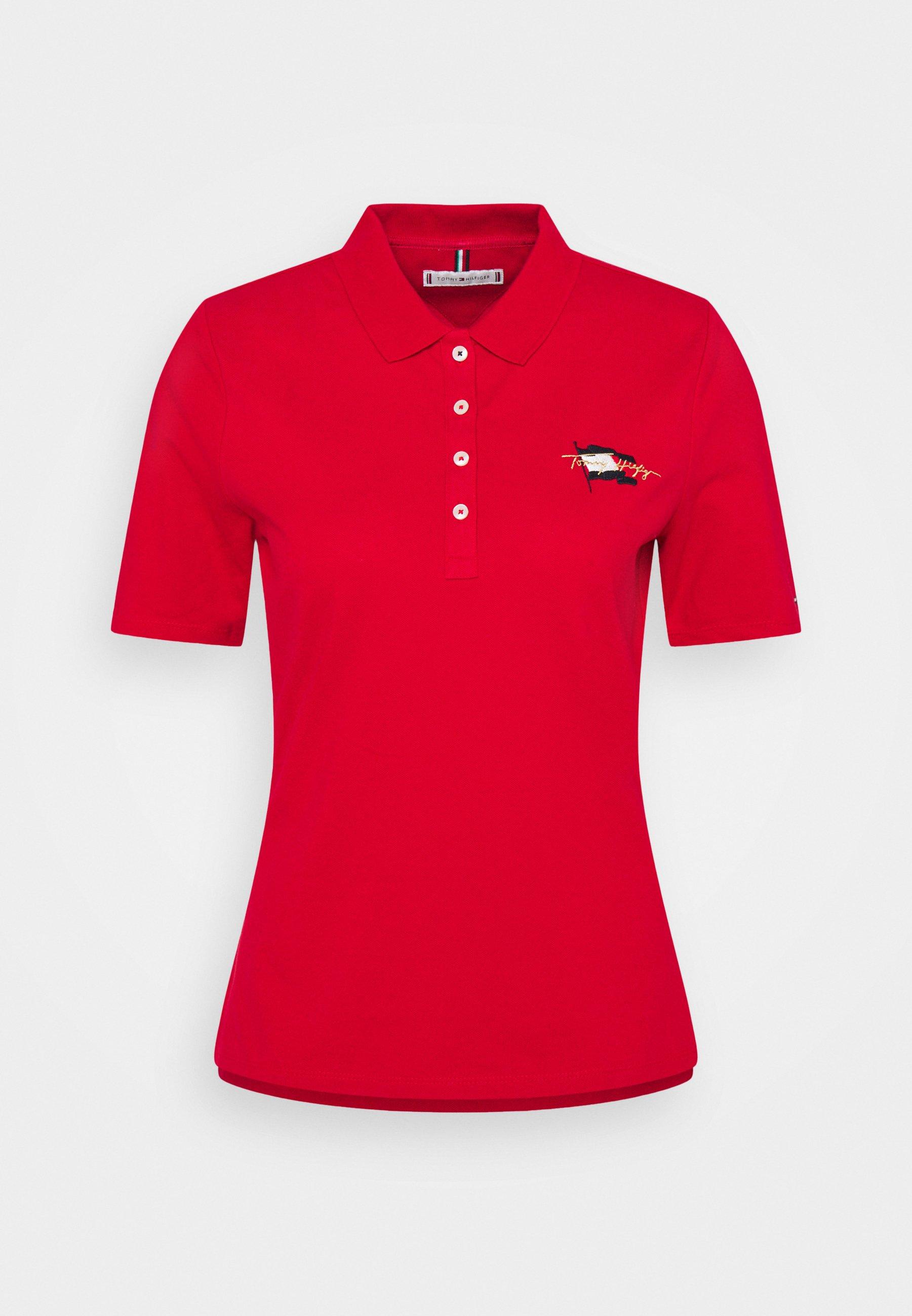 Women REGULAR FLAG - Polo shirt