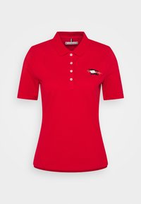 Tommy Hilfiger - REGULAR FLAG - Polo shirt - primary red - 0